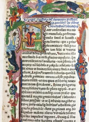 Biblia latina--Bridwell